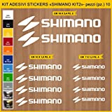 Stickers vélo SHIMANO KIT 2 -Kit stickers 10 pièces - Choisir immédiatement...