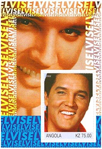 Elvis Presley Briefmarken - The King - Mint und postKleinBogen mit 1 - Elvis-souvenir
