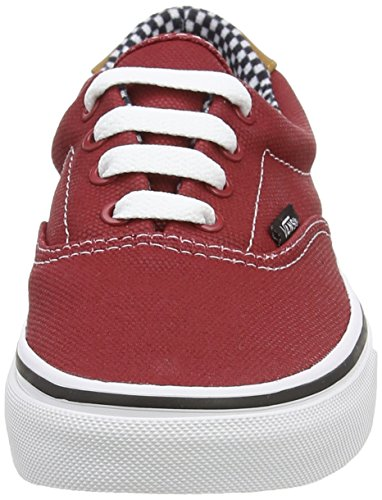 Unisex Sneaker von Vans – Era 59 CA Red (Waxed Canvas - Chili Pepper)