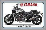 Schatzmix Yamaha v Max RP21 2015 Motorrad, Motor Bike, Motorcycle blechschild