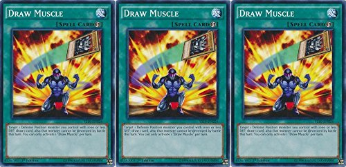 YS16-EN024 Draw Muscle 1st Edition Mint YuGiOh Card