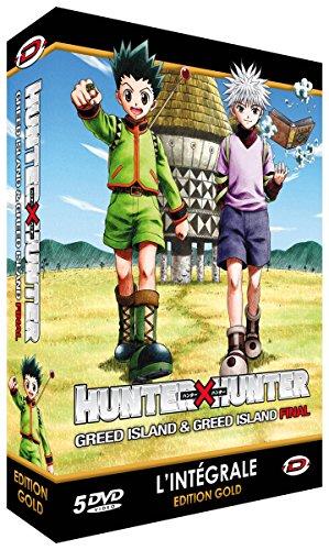 Hunter X Hunter : Greed Island & Final - Intégrale - Edition Gold (5 DVD + Livret)