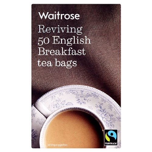 English Tee-set Breakfast (Englisch Breakfast Tea Bags Waitrose 50 pro Packung)