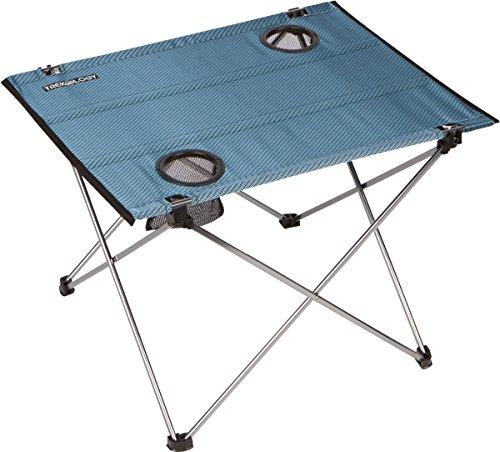 Trekology Faltbarer Picknicktisch, klapptisch, klapptische,campingtisch, tragbar, kompakt, aufrollbar, klein, leicht, für Camping, Strand, Außenbereich, mit Tasche