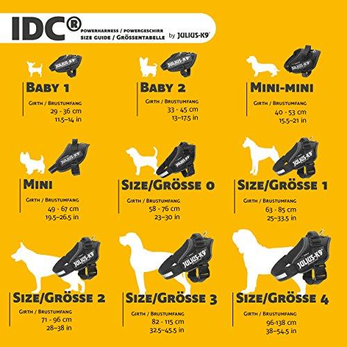 JULIUS-K9, 16IDC-P-0, IDC-Powergeschirr, Größe: 0, Schwarz - 5