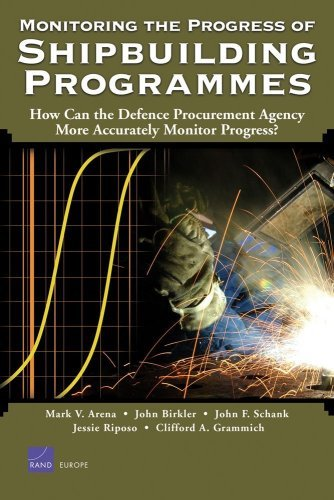 Monitoring the Progress of Shipbuilding Programs: How Can the Defense Procurement Agency More Accurately Monitor Progress?: How Can the Defence Procurement ... Monitor Progress? (English Edition) -