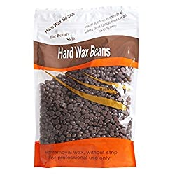 Majik Painless And Stripless Rapid Melt Hard Wax Beads For Hair Removal, Chocolate, 250 Gram, Pack Of 1
