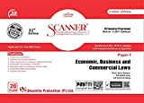 Scanner CS Executive Programme Module - II (2017 Syllabus) Paper - 7 Economic, Business and Commercial Laws (Green Edition) (Applicable for June 2020 Attempt)