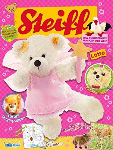 Steiff Magazin Nr. 3 - Das Knuddeligste Magazin der Welt - Inkl. Steiff Teddy Rosa mit Schleife
