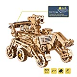 ROBOTIME Solar Powered Stem Toys - Laser Cutting Robot DIY Kits de...