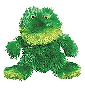 KONG Plush Frog Dog Toy, Medium