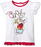 #9: Donuts Baby Girls T-Shirt (265970491_White_12M)