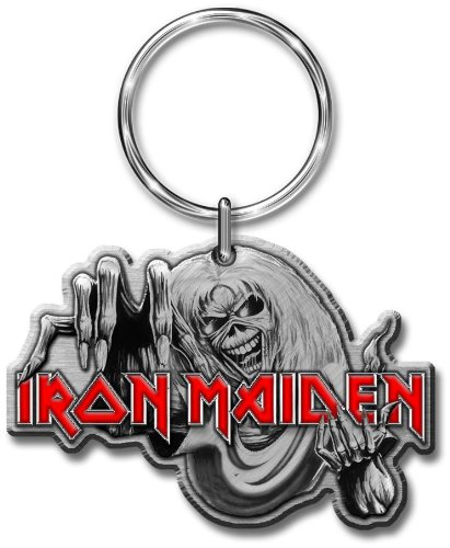 Iron Maiden The Number of the Beast - Portachiavi Keyring