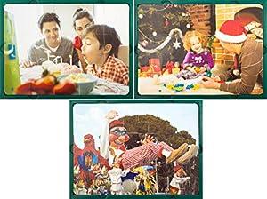 Learn and Play Aprende y Juega 27,5 x 19 cm Puzzle Suaves Vacaciones (Set de 3)