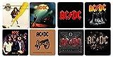 AC DC - Untersetzer Coaster 8er Set - Best Of Mix
