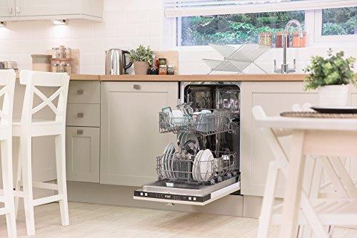 Russell Hobbs RH45BISLDW2, 45cm Wide Built In Slimline Dishwasher ...