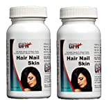 GFN Hair Skin and Nails Complete Multivitamin - 90 Softgels (Pack of 2)