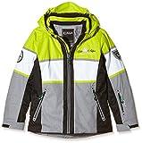 CMP ragazza giacca da sci, verde lime, 140, 3W06455