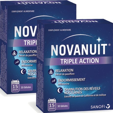 Novanuit Triple Action 2 x 30 Capsules