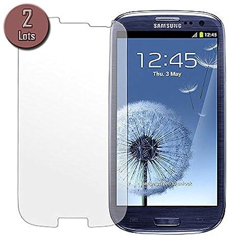 2 x films de protection d'écran pour Samsung Galaxy S3