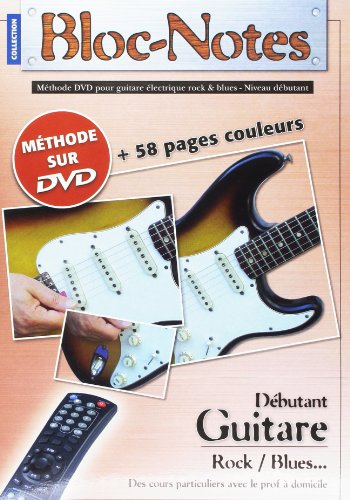 Bloc Notes Guitare Electrique Methode Ta...