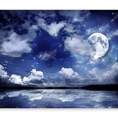 murando - Fototapete Nachthimmel 300x210 cm - Vlies Tapete - Moderne Wanddeko - Design Tapete -...