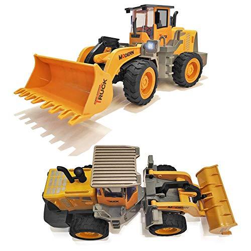 RC Auto kaufen Spielzeug Bild 3: 332PageAnn Rc Bagger Spielzeugauto Radlader Baufahrzeuge, 6 Kanal Simulationsfahrzeug Geburtstagsgeschenk Für Kinder*