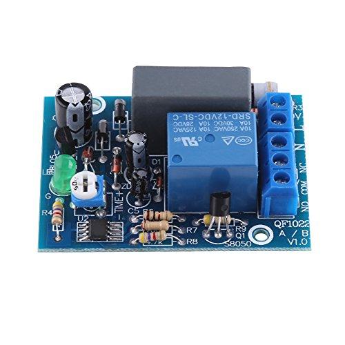 Preisvergleich Produktbild AC 220V Timing Timer Delay Deaktivieren Schalter Zeit Relais Modul 10A 250V AC / 10A 30V DC(0 ~ 10Sekund)