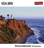 USA - Kalender 2019: Sehnsuchtskalender, 53 Postkarten - Rainer Großkopf