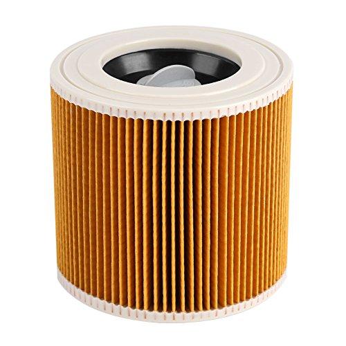 11.5x12cm Zylindrische Form nass/trocken Staubsauger Filterelement Luftfilter Ersatz Filter Staubsauger Saugroboter Mehrzwecksauger für Kärcher A2004 A2054 A2204 A2656 WD2.250 WD3.200 WD3.300