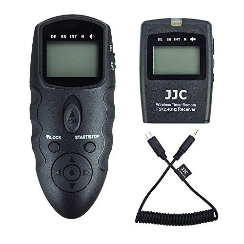 JJC Disparador Remoto Temporizador mandos a Distancia para Sony Alpha A7RIII A7III A7RII A7R2 A7SII A7II A7R A7S A7 A6500 A6400 A6300 A6000 A5100 A5000 RX100 Vi V IV III