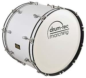 """Marching Bass Drum / Fan-Trommel / große Trommel / Pauke DIE MAMMUT GRÖSSE!! Größe 26"""" x 12"""" (66cm x 30cm) Nur 8 KG (Modell: MBC-26B)"""