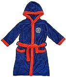 garçons officiel PSG PARIS SAINT GERMAIN à Capuche Robe de chambre peignoir tailles de 3 pour 12 An - Bleu, 11-12 Years