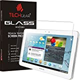 "TECHGEAR® Samsung Galaxy Tab 2 10.1"" (GT-P5100 Series) GLASS Edition Genuine Tempered Glass Screen Protector Guard Cover"