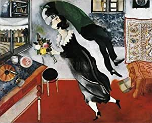L'Anniversaire Poster - Marc Chagall
