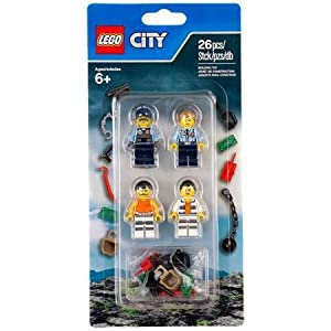 Lego Accessory Set Police 2016 - Expand your Prison Island population!  LEGO