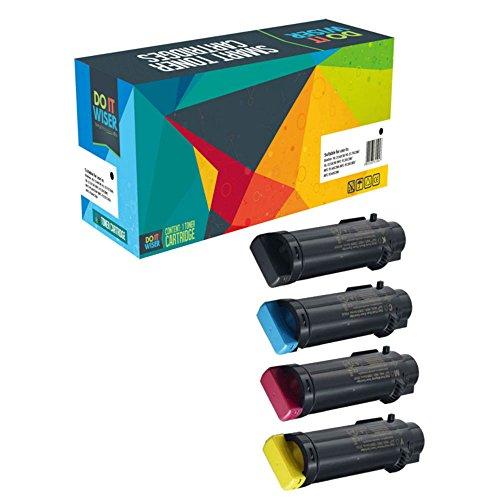 Preisvergleich Produktbild 4 Do it Wiser ® Toner Kompatibel für Xerox WorkCentre 6515DN 6515 6515DNI 6515DNM 6515N | Phaser 6510 6510DN 6510DNI 6510DNM 6510N