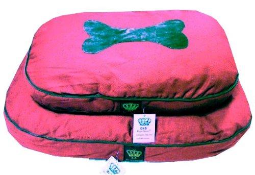 Bild: Hundebett Red Dream  Schlafplatz  kuschelig weich  85x55x9cm  Dogs Stars