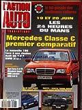 ACTION AUTOMOBILE ET TOURISTIQUE [No 378] du 01/06/1993 - 24 HEURES DU MANS. MERCEDES...