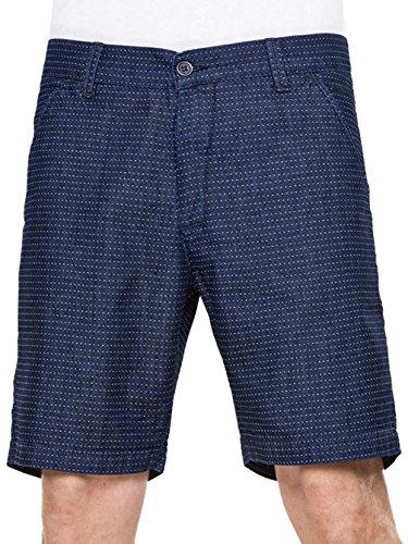 REELL Miami Chino Shorts chambray blue / bleu Taille Dark Dots