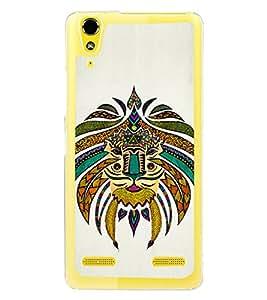 Tribal Art 2D Hard Polycarbonate Designer Back Case Cover for Lenovo A6000 Plus :: Lenovo A6000+ :: Lenovo A6000