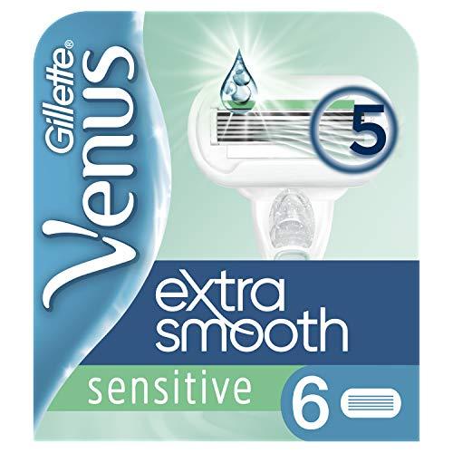 Gillette for Women Venus Extra Smooth Sensitive Systemklingen 6er
