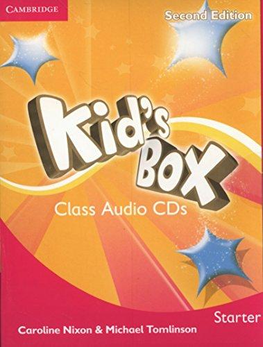 Kid's Box Starter Class Audio CDs 2 Nixon Audio