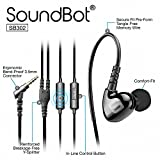 Soundbot SB302 Sports Headphones (Black)