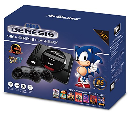 Console Retro Sega Mini Megadrive + 85 jeux – édition gold 2017-2018