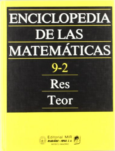 Enciclopedia de las matemáticas IX. 2ª parte: 9 (Fondos Distribuidos) por I. M. Vinogradov
