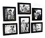 #10: Painting Mantra Classy Memory Wall Photo Frame (Set of 6, Black)
