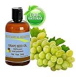 Traubenkernöl. 100% reine / natur / verfeinert / parfümfrei Trägeröl kaltgepresst - 480ml. Für Haut, Haare, Massage-und Nagelpflege.
