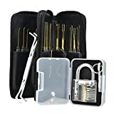Browill Profi Lockpicking Set 24-teiliges Pick-Set Dietriche Kit