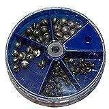 Yaoaoden 1 Satz Split Shot Dispenser Angeln Gewichte Blei Weiche Platinen Float Tackle Tool Tragbare...